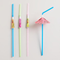 Umbrella Straws, Set of 24