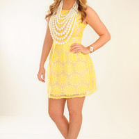 Sounds Of Summer Dress: Yellow