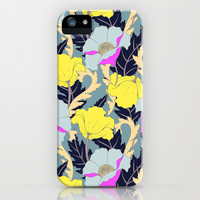 June Yellow iPhone & iPod Case by Aimee St Hill