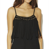 Bead Fringe Tank | Wet Seal