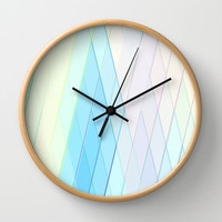 Re-Created Vertices No. 14  Wall Clock by Robert S. Lee
