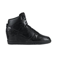 The Nike Dunk Sky Hi Women's Shoe.