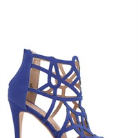 HIGH HEEL BOOTIE WITH CUTOUTS