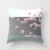 Spring Boulevard Throw Pillow by RichCaspian