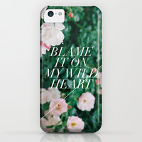 wild heart iPhone & iPod Case by Fieldguided