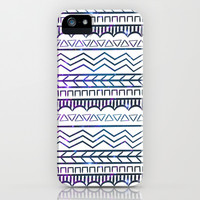 Galaxy Tribal Print iPhone & iPod Case by An Luong