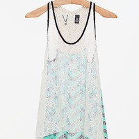 BKE Boutique Pieced Tank Top