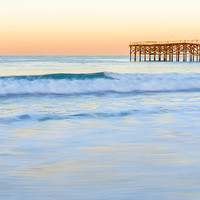 Pacific Beach Dawn Photograph by Priya Ghose - Pacific Beach Dawn Fine Art Prints and Posters for Sale