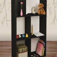 Way Basics Eco-Friendly Tribes Shelf in Black - PS-285-815-1150-BK - Shelves - Decor
