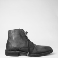 Mens Trap Boot (Washed Black) | ALLSAINTS.com