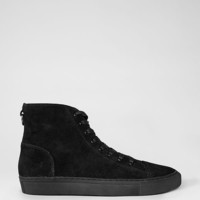Mens Boundary Hi-Top (Black) | ALLSAINTS.com