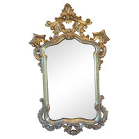 Carved & Gilt Mirror by La Barge