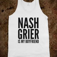 NASH GRIER IS MY BOYFRIEND TANK TOP (IDC500203)