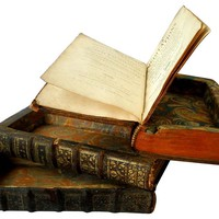 French Bottle Compartment Books, S/3