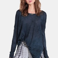 Total Eclipse Oversized Top By Black Swan