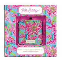 Lilly Pulitzer - Mobile Charger 8-Pin - Trippin and Sippin