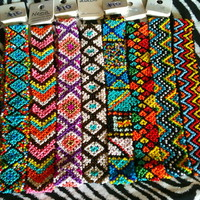 Aztec bead headbands (Set A) from PeaceLove&Jewels