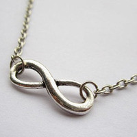 ancient vintage style silvery infinity wish by braceletcool
