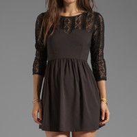 Ladakh Intermix Lace Dress in Black from REVOLVEclothing.com