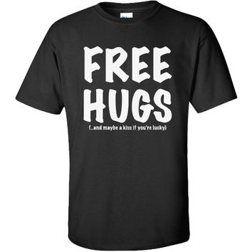 Zerogravitee Men's Free Hugs Short Sleeve T-Shirt