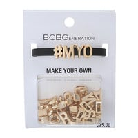 BCBGeneration Make Your Own Word Bracelet
