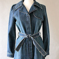 Sinequanone 70s look Denim Dress/Coat