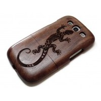 Wooden Samsung Galaxy S3 case - Lizard