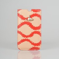 Vivienne Westwood Squiggle iPhone Case - Red