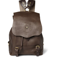 Bill Amberg - Hunter Full Grain Leather Backpack | MR PORTER