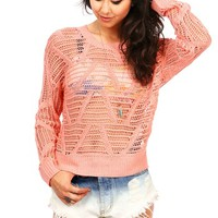 Carry On Knit Sweater | Trendy Knits at Pink Ice