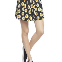 Daisy Skater Skirt | Wet Seal