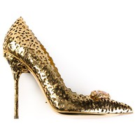 SERGIO ROSSI perforated pump