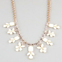 FULL TILT Stone Spray Statement Necklace