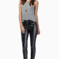 Zadie Zippered Leggings $43