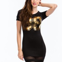 Number 98 Bodycon Dress