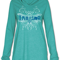 NEW! Imagine Yoga Hoody: Soul Flower Clothing
