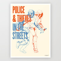 Police and Thieves - Limited Edition Print