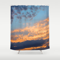 Berkshires Sunset III Shower Curtain by CAPow!
