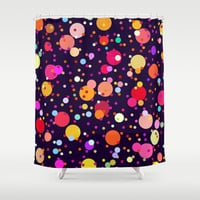 Celebrate Shower Curtain by House of Jennifer