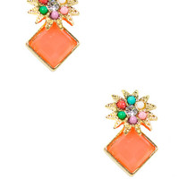 Floral Flair Earrings