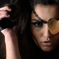 Eye patch - Heart by fusionlover on Sense of Fashion