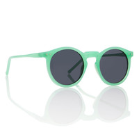 Mint Green Round Frame O'Malley Sunglasses // Jade