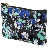 Merona® Floral Mini Zip Wallet - Blue
