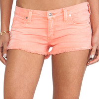 Frankie B. Jeans Summer Girl Short in Tangerine from REVOLVEclothing.com