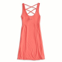 AEO FACTORY STRAPPY BACK DRESS