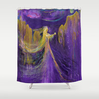 The Offering Shower Curtain by LILY NAVA GALLERY