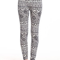 Tribal Print Leggings - LoveCulture