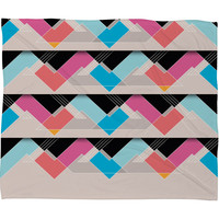 Gabi The Space Between Fleece Throw Blanket