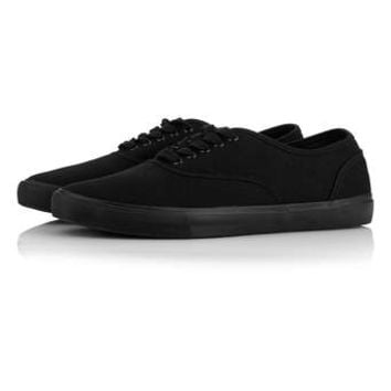 Black Canvas Plimsolls - View All Shoes - Shoes and Accessories