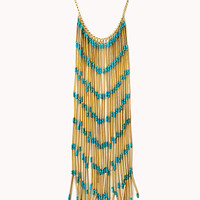 Gone Boho Fringe Necklace